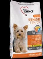 1st Choice Senior Toy and Small Breeds 8+