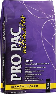 Pro Pac Ultimates Puppy Chicken & Brown Rice Formula