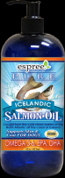 Icelandic Salmon Oil  Масло исландского лосося  выловленного в дикой природе для собак