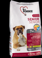 1st Choice Senior Sensetive Skin and Coat с ягненком и рыбой для пожилых собак 7+