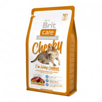 Brit Care Cat Cheeky с олениной и рисом для кошек живущих на улице