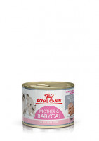 Royal Canin MOTHER and BABYCAT ULTRA SOFT MOUSSE Консерва для котят, 195г