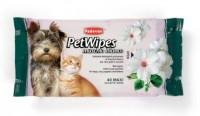 PET WIPES MUSCHIO BIANCO Очищающие влажные салфетки с ароматом белого мускуса для собак кошек