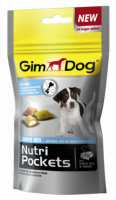 Gimdog Nutri Pockets Junior mix для щенков, 45г