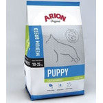 Корм Arion для щенков Original Puppy Medium 10-25 кг Курица и рис