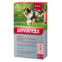 Advantix для собак 10-25 кг