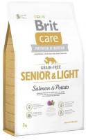 Brit Care GF Senior Salmon & Potato