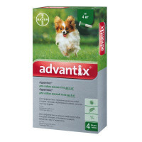Advantix для собак до 4 кг